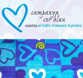 Campaña Cor Blau contra el tráfico de seres humanos