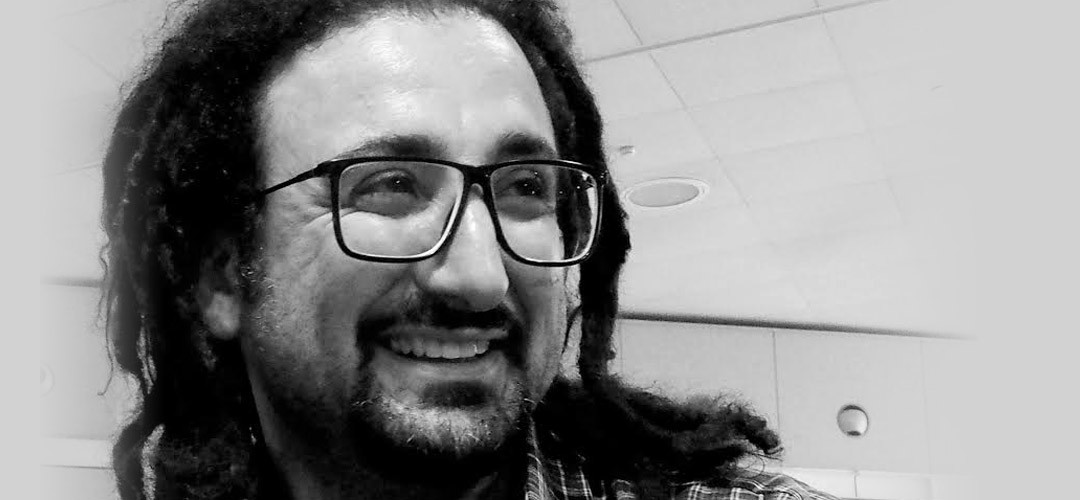 Presentació del poeta sirià Ugar, acollit a Barcelona pel PEN Català i l'Ajuntament de la ciutat