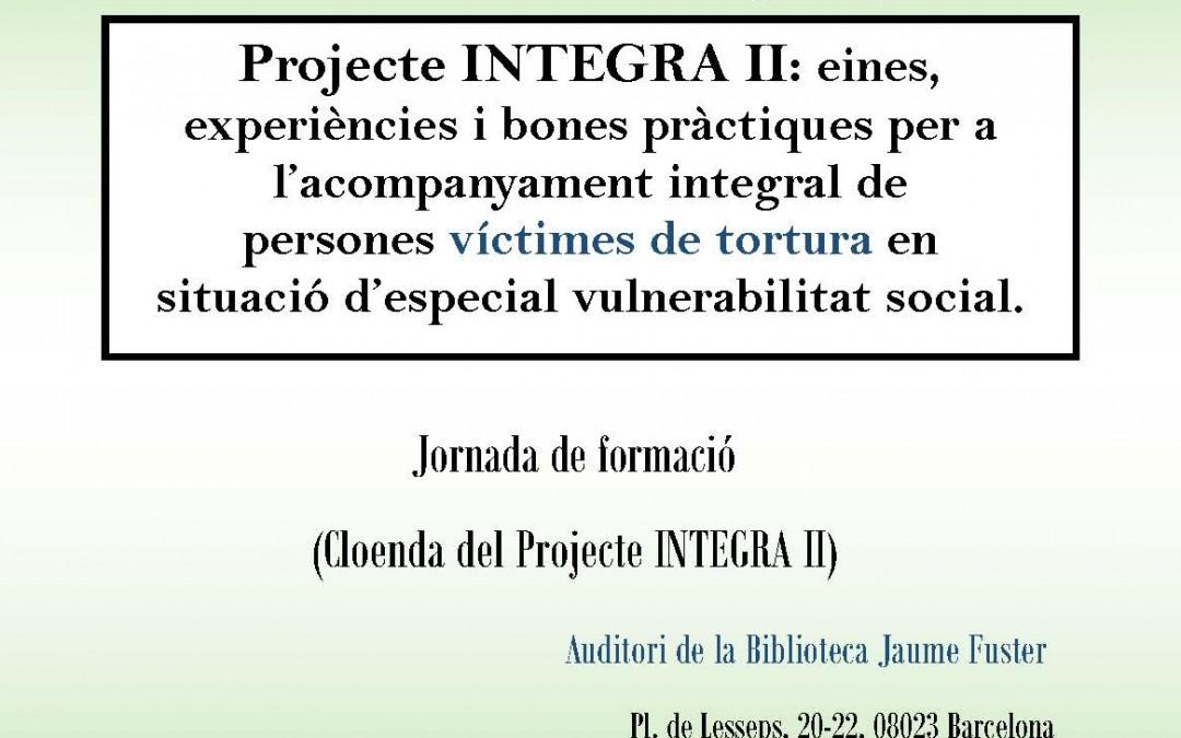 Jornada de cloenda del projecte Integra II
